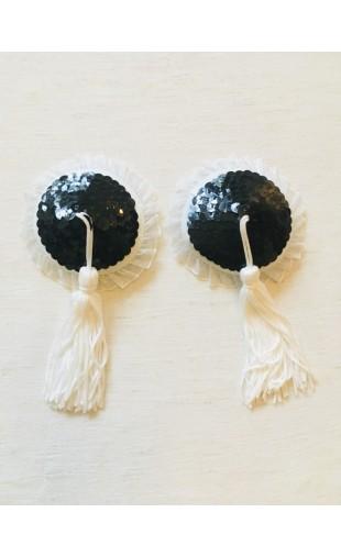 Nipple Pasties - Black & White
