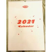 Badass Calendar 2021