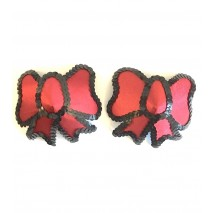 Nipple Pasties - Red Bows