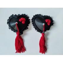 Red Rose Nipple Pasties